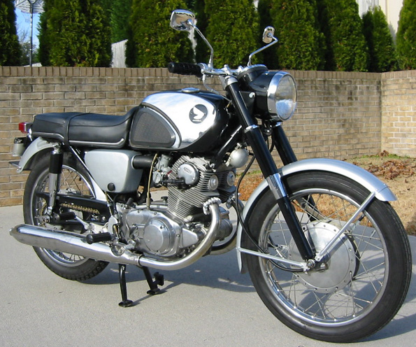honda305.com - For Sale - 1963 CB77