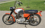 For Sale: 1965 Honda Superhawk CB77