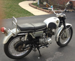 Auction: 1967 Honda Scrambler CL77