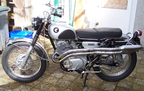 For Sale: 1967 Honda Scrambler