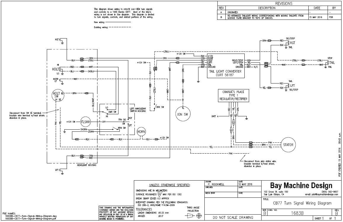 Honda Cl77 Wiring Diagram House Symbols Honda305 Com Forum View Topic Cb77 Turn Signals Rh Schematic