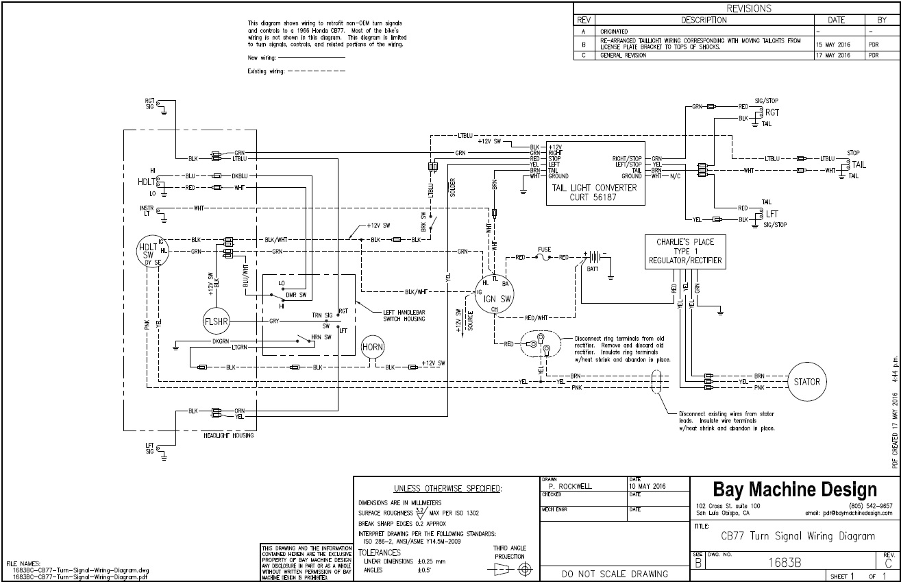 com forum view topic cb turn signals 1683bc cb77 turn signal wiring diagram jpg